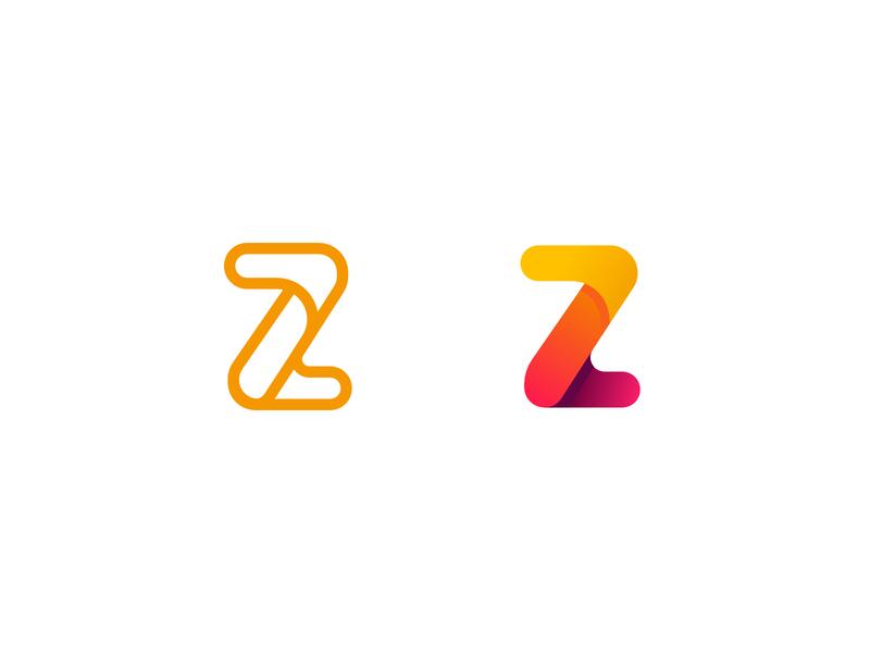 Z Logo Experiment