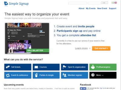 Simpleeventsignup