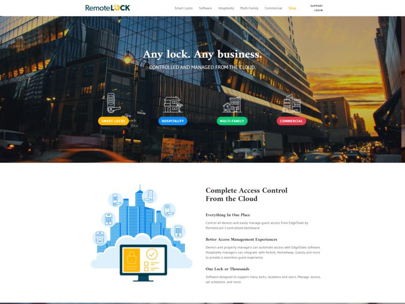 Remotelock jquery html5 drupal ux ui web development webdesign cloud remotelock