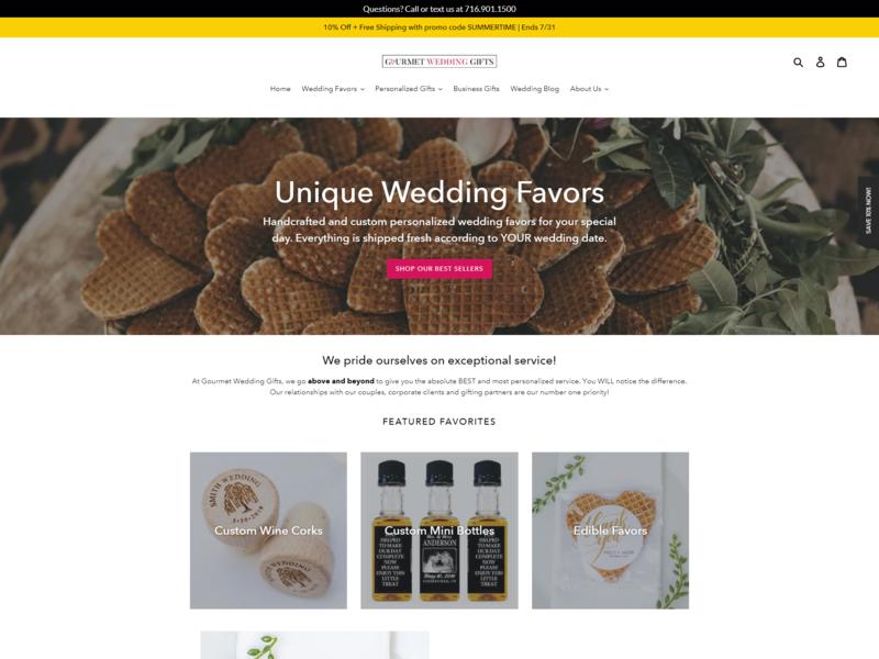 Gourmet wedding gifts nascenia mysql cdnjs corejs web devlopment web design wedding gift website custom gifts gourmet wedding gifts