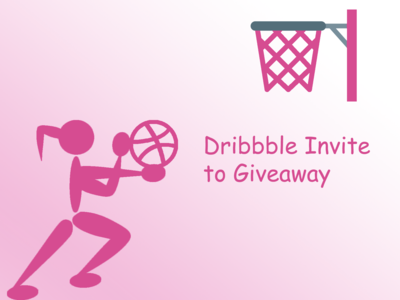 Dribbble Invites to Giveaway