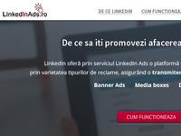 Landing Page - Linkedinads.ro