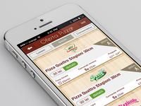 Pizza order app