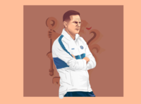 Frank Lampard vector art