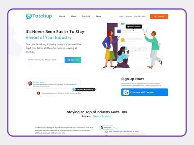 TatChup - A Google Chrome Extension plugins Website Design