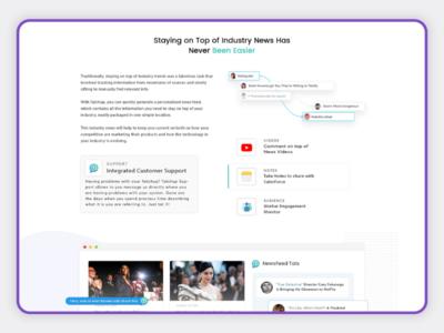 Tatchup Chrome Extension Website Design