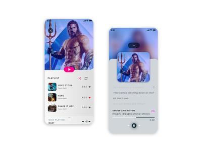 Music App iOS Design
