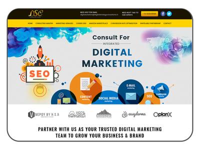 DSC - Digital Marketing based website design