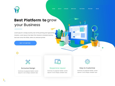 Business Platform Website Design