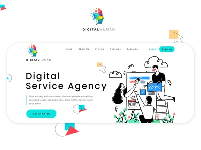 Digital Marketing Agency Website Design