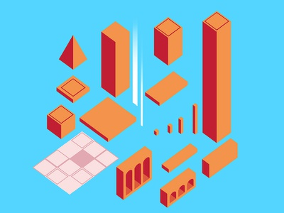 Blanc - Puzzle Game Concepts puzzle ux flat design flat icon flat vector design ux vector art ui traditional illustration traditional sketch scribble minimalistic art minimalismus minimal icon vector illustration design app