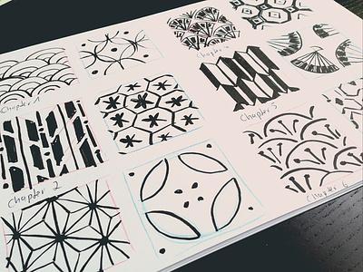 Kanji Memo - Brushpen sketches ux ui traditional illustration traditional sketch scribble minimalistic art minimalismus minimal illustration icon design brushpen brush illustration brush