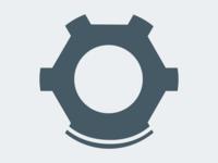Diver Helmet Logo