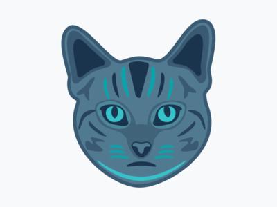 Dark Theme Cat