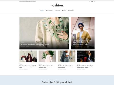 Simpli - News, Magazine & Personal Blog Joomla template