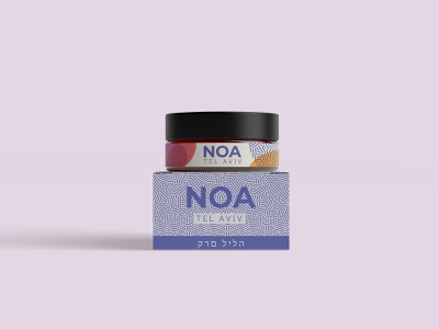 NOA Cosmetics pattern cosmetic packaging branding packagedesign packaging cream cosmetics