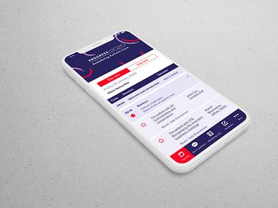 Prostate Cancer Event event branding event app cancer uiux ui design illustration vector app designer ux ui branding app design app