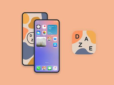 Daze App Icon #DailyUI app icon app design 005 dailyuichallenge dailyui daily ui ui design ui design daily ui design uiux ux ui