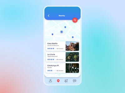 020 #DailyUI Location Tracker travel apps dailyui020 map ui travel app ui location tracker location mobile ui travel app design travel app design dailyuichallenge ux dailyui ui