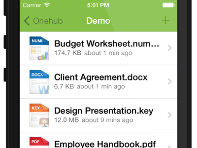 Onehub File List onehub header files list ios 7 file types