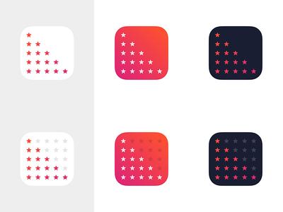 R8R App Icon r8r stars gradient app icon