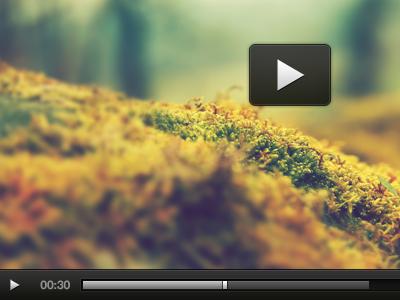 Press Play onehub video icons black gray progress gradient