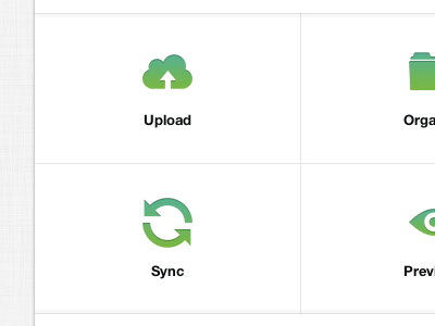 Section Links upload cloud folder sync preview linen helveticons icons