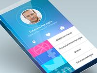 Translucent experimental app