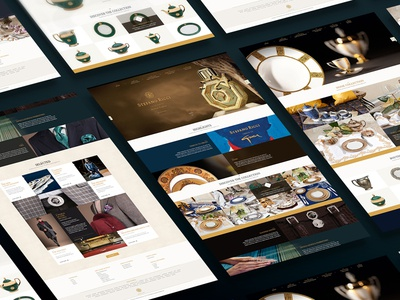 Luxury Clothing Website Design