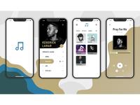 Adobe Xd - Music App