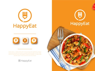 flat logo design clean icon business logo identity design branding food and drink flat app food delivery app food delivery food app food