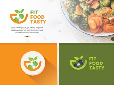 Fit food tasty logo design meal prep foodservice foods health care health app food company food photography food package food truck food and drinks food and beverage food lover food delivery food logo healty teasty food and drink foodie food app food