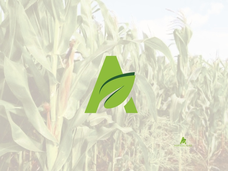 Agriculture Logo art web creative identity app vector illustration icon flat design clean business branding agricultural logo organic organics agriculture business  consulting agriculture