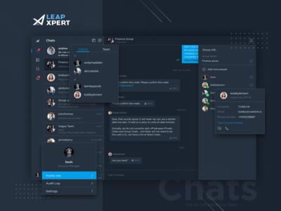LeapXpert - Web Chat