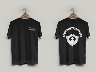 Berooz barbershop T-Shirt design