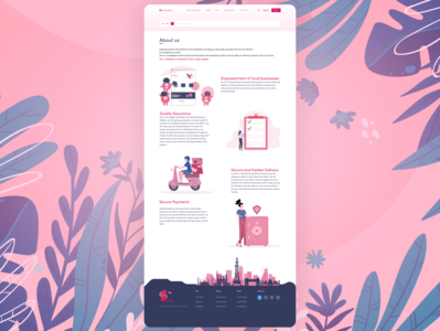 About Us Page Ui