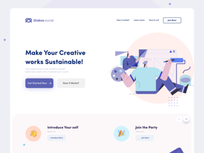 Landing Page! designer user interface userinterface dailyui brand designs web design webdesign website web branding ui design uidesign design application uiux app design app ux ui