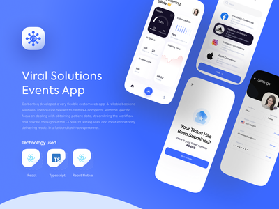 Covid Testing App covid-19 minimalist clean website web blue minimal dailyui daily ui designer covid 19 covid uidesign app branding uiux ux design ui