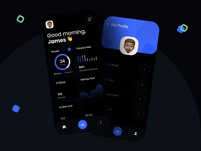 App UI 3d clean minimal covid 19 covid-19 covid19 website web blue designer daily ui dailyui dark uidesign app branding uiux ux design ui