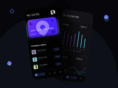 Mobile Banking App fintech app finances dashboard credit card designer dailyui banking card finance minimalist minimal website web banking app uidesign app branding uiux ux design ui