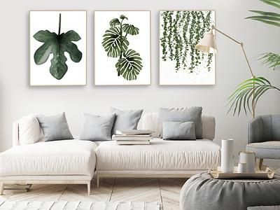 Botanical Poster illustration art webdesign graphic design digital illustration procreate branding digital art illustration digital painting poster art poster design