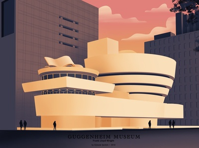Guggenheim Museum I Frank Lloyd Wright