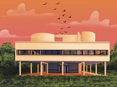 Villa Savoye I Le Corbusier