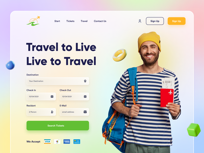 Travel Ticket Booking Web UI Exploration elearning online shop tickets ticket booking ticket app travel agency landingpage travel app ecommerce travel website design ux ux design ui design header exploration agency landing page landing page design landing page clean ui ui