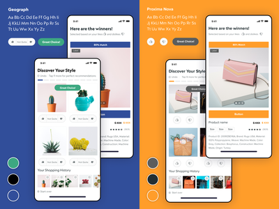 AI Interactive Guided Shopping Experience uxui design inspiration interactive design shopping app shopping tinder rwd mobile design mobile ui artificial intelligence ai machinelearning ecommerce shop ecommerce design ecommerce landing page uxui uxresearch uidesign uxdesign
