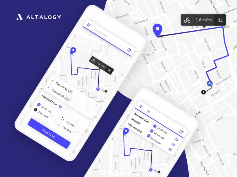 Bike Rental App - Concept