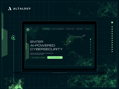 Cybersecurity Company - Landing Page