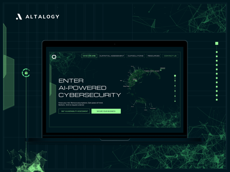 Cybersecurity Company - Landing Page website design cyber fallout art landing page design landingpage cybersecurity web design illustrations inspirational website landing page branding webdesign uxui inspiration ui ux uxdesign uidesign