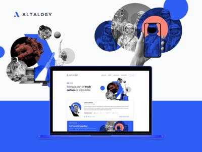 Altalogy Website - Team Section