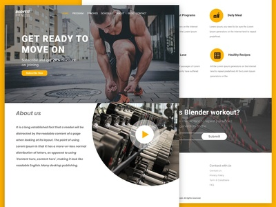 Body Fitness Website